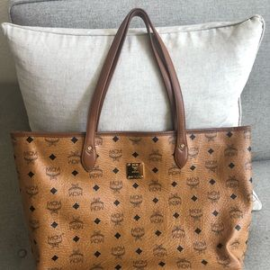 Authentic MCM tote Large